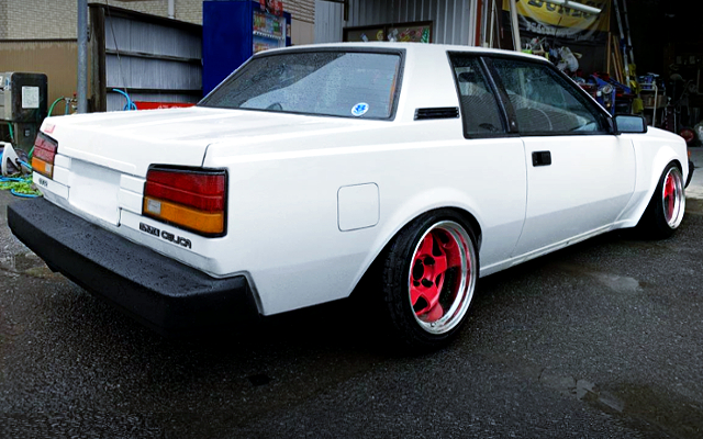 REAR EXTERIOR OF AA63 CELICA COUPE GT-R