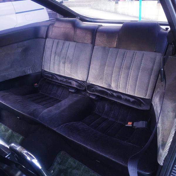 AE86 LEVIN BACKSEAT