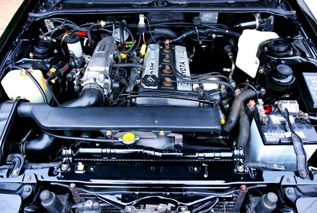 16-VALVE 4AGE ENGINE OF AE86 BLACK LTE MOTOR
