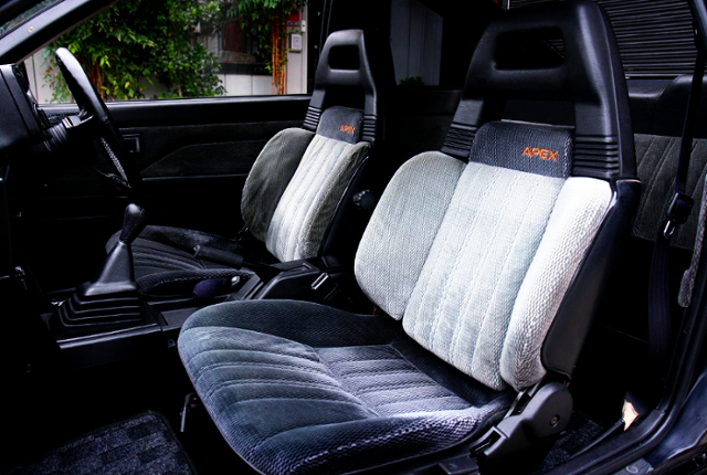 AE86 BLACK LTD SEATS