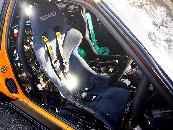DRIVER'S RECARO FULL BUCKET SEAT