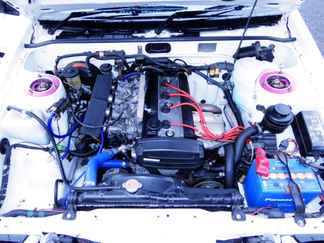 AE111 20V 4AG ENGINE SWAP TO AE86 ENGINE ROOM