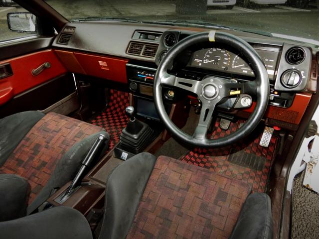 INTERIOR OF AE86 TRUENO GT-APEX