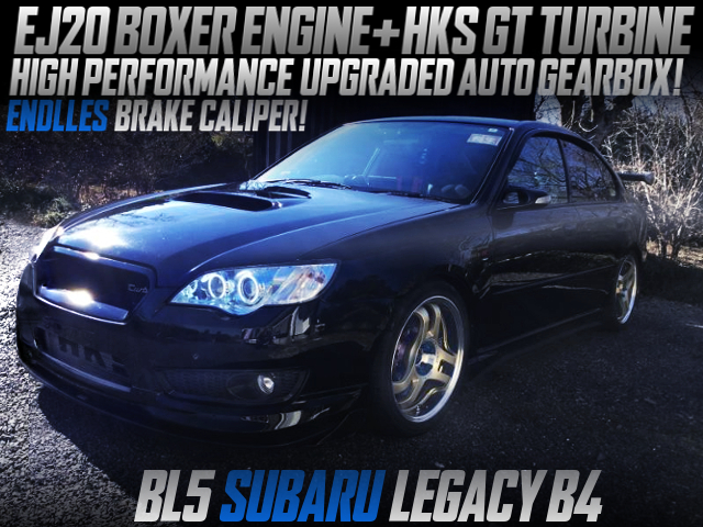 HKS GT TURBO AND AUTO GEARBOX UPGRADE INTO A BL5 LEGACY B4