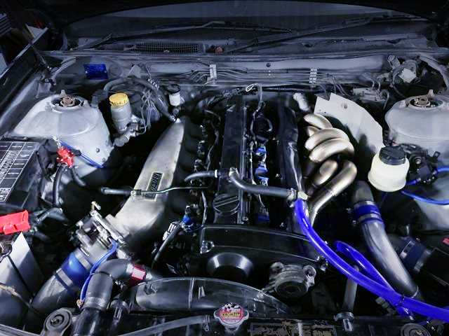 RB25DET With GREDDY INTAKE SURGE AND GT2835KAI TURBO