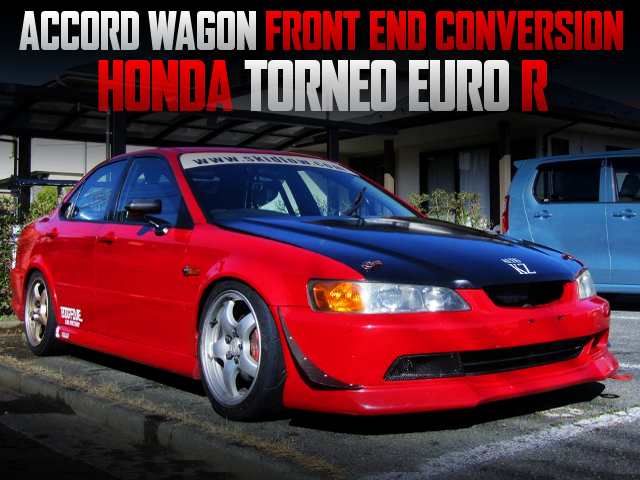 ACCORD WAGON FRONT END TO CL1 TORNEO EURO-R
