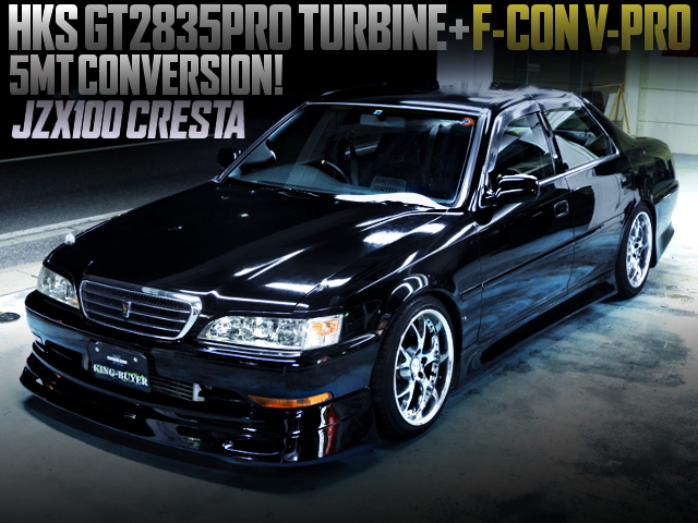 1JZ With GT2835PRO AND 5MT CONVERSION TO JZX100 CRESTA ROULANT-G