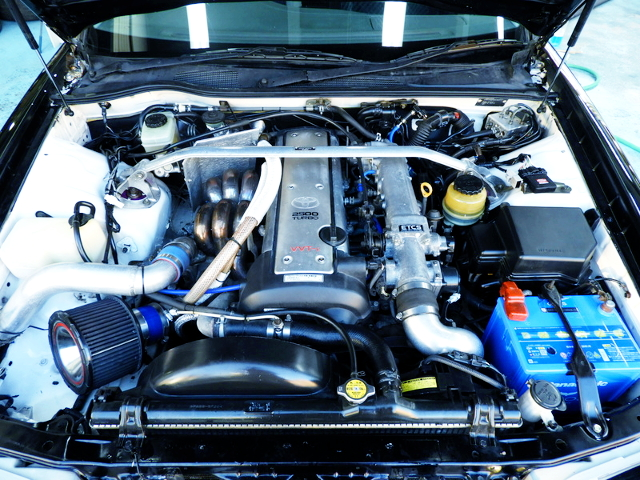 1JZ-GTE TURBO ENGINE OF JZX100 CRESTA MOTOR