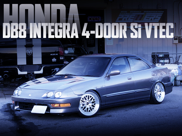 USDM CUSTOM TO HONDA DB8 INTEGRA 4-DOOR Si-VTEC