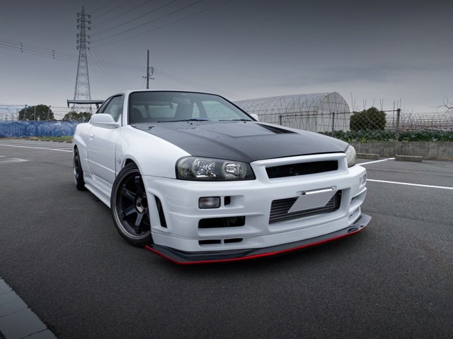 FRONT EXTERIOR OF ER34 SKYLINE 25GTT WIDEBODY