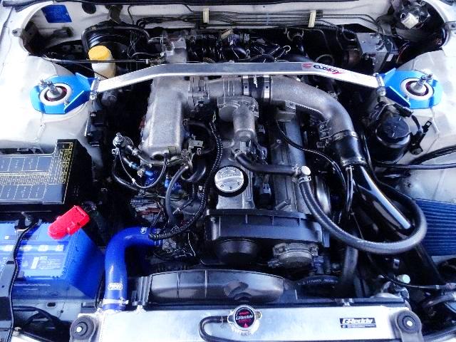 RB25DET TURBO ENGINE OF NEO6 MODEL