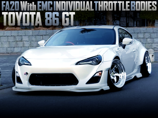 FA20 With EMC ITBs OF TOYOTA 86 GT