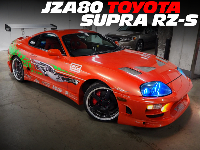 FAST AND FURIOUS REPLICA OF JZA80 SUPRA RZ-S