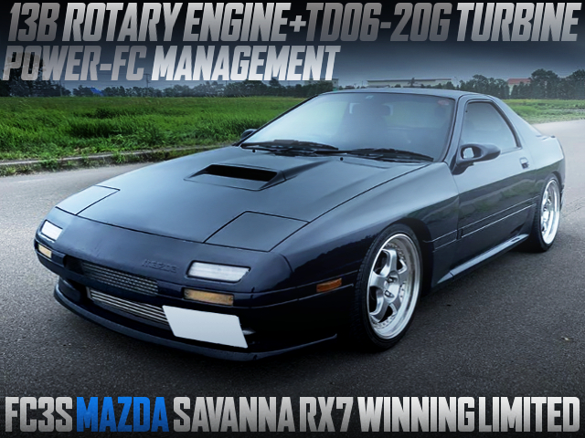 TD06-20G TURBOCHARGED FC3S RX-7 WINNING LIMITED