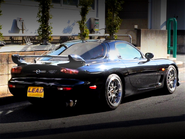 REAR EXTERIOR OF FD3S RX-7 TYPE-RB