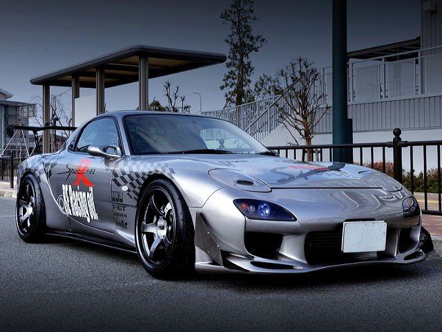 FRONT EXTERIOR OF FD3S RX7 TYPE-RS