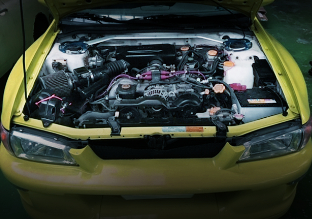 NATURALLY ASPIRATED OF EJ25 BOXER ENGINE