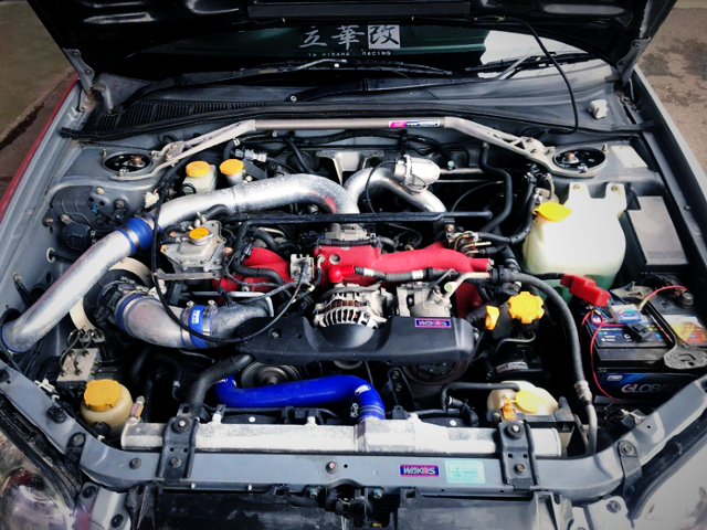 EJ207 BOXER TURBO ENGINE OF GDB WRX STI MOTOR
