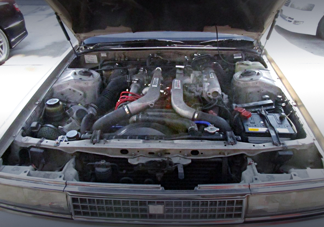 1G-GTE TWINTURBO ENGINE WITH Air-To-Air INTERCOOLER