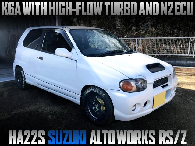 HIGH-FLOW TURBO AND N2 ECU INTO A HA22S ALTOWORKS RSZ