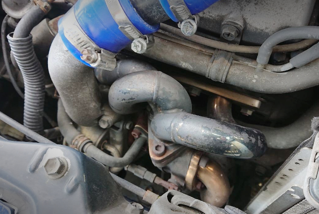 EXHAUST MANIFOLD ON K6A TURBO
