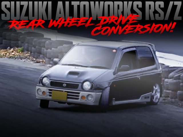 RWD CONVERSION TO DRIFT SPEC HB21S ALTOWORKS RSZ