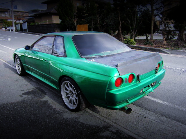 REAR EXTERIOR OF HCR32 SKYLINE TO GT-R WIDE BUILD