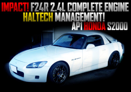 IMPACT F24R COMPLETE ENGINE INTO A AP1 S2000