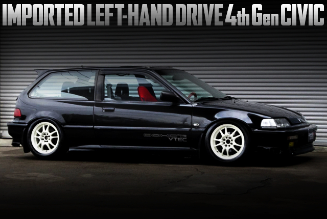 IMPORTED LHD 4th Gen CIVIC HATCH