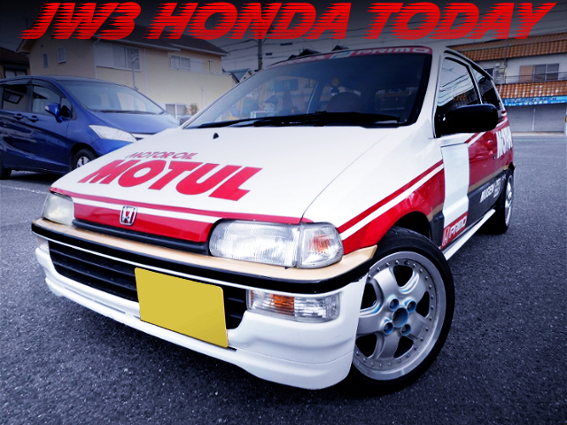 MUGEN MOTUL COLOR OF JW3 HONDA TODAY