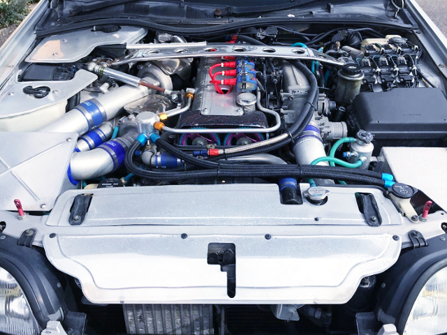2JZ-GTE TWINTURBO ENGINE OF JZS147 ARISTO