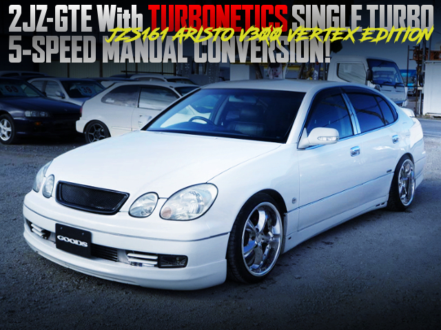 2JZ With TURBONETICS TURBO AND 5MT INTO JZS161 ARISTO