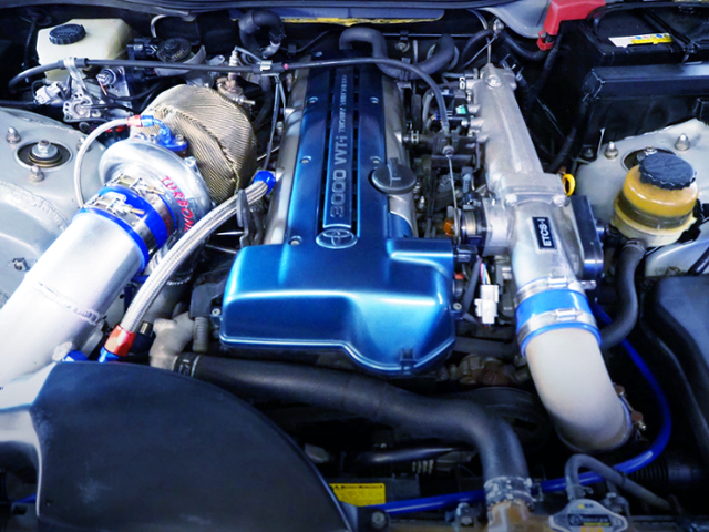 2JZ-GTE With TURBONETICS SINGLE TURBO