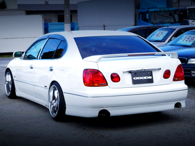 REAR EXTERIOR OF JZS161 ARISTO