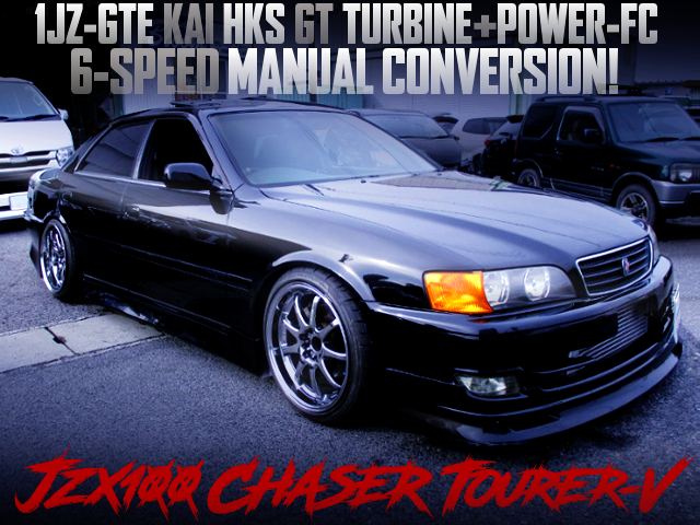 6MT AND HKS GT TURBINE INTO A JZX100 CHASER TOURER-V