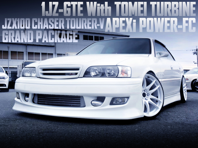 1JZ With TOMEI TURBO AND POWER-FC INTO A JZX100 CHASER TOURER-V GRAND PKG