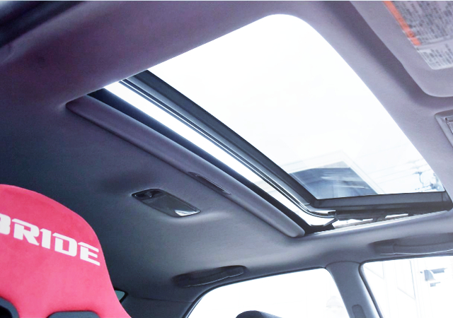 SUNROOF OPEN TO JZX100 CHASER