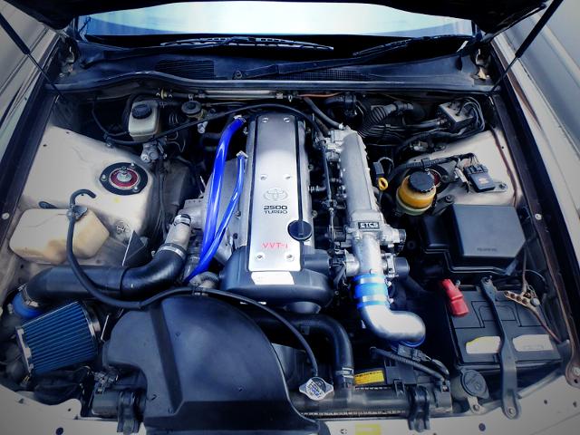 VVTi 1JZ-GTE 2500cc TURBO ENGINE OF JZX100 MOTOR