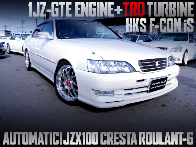 1JZ With TRD TURBINE AND FCON iS INTO A 100 CRESTA ROULANT-G OF AUTOMATIC-SHIFT