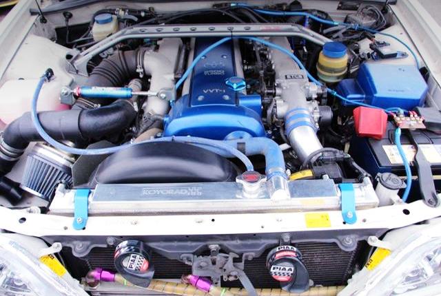 1JZ-GTE TURBO ENGINE OF JZX100 CRESTA MOTOR