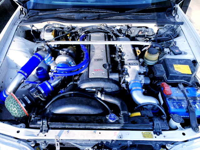 1JZ-GTE WITH GREDDY T67-25G SINGLE TURBO