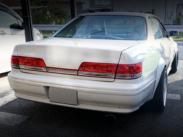 REAR EXTERIOR OF JZX100 MARK2