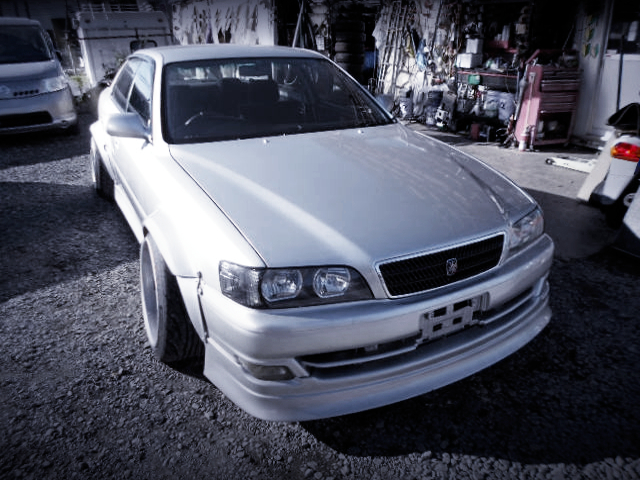 FRONT EXTERIOR OF JZX100 CHASER TO SILVER
