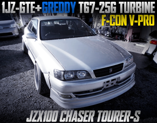 1JZ-GTE T67 TURBO AND F-CON V-PRO With JZX100 CHASER TOURER-S