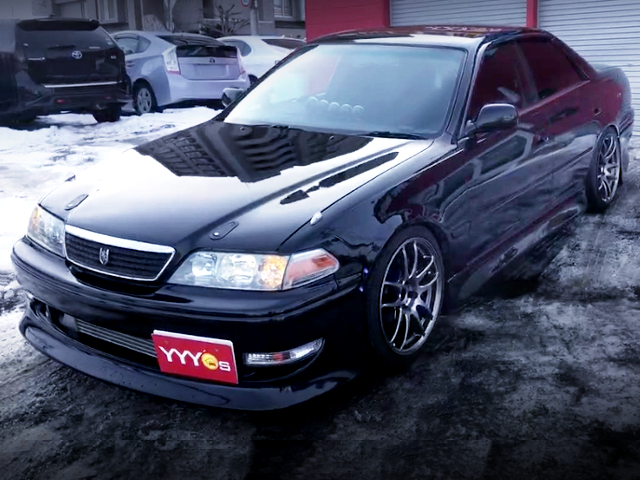FRONT EXTERIOR OF JZX100 MARK2 TOURER-S