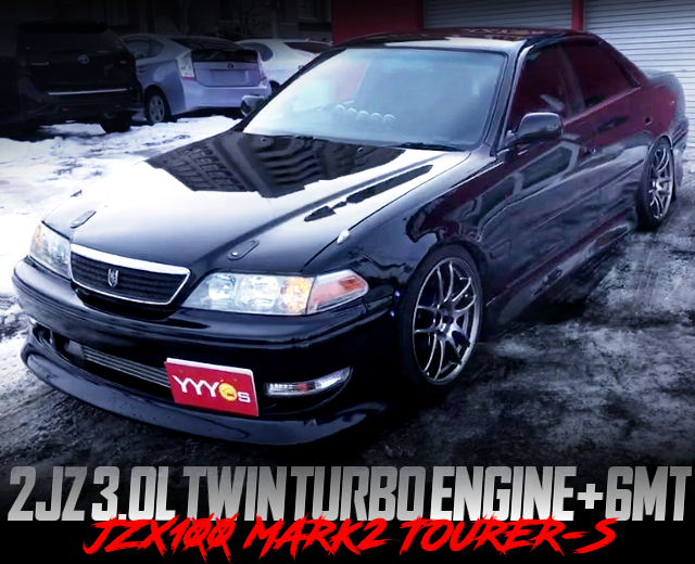 2JZ TWINTURBO AND 6MT SWAPPED JZX100 MARK2 TOURER-S