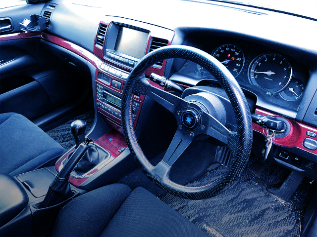 INTERIOR OF JZX110 MARK2 iR-V