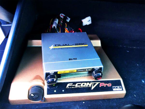 F-CON V-PRO 3.4 And BLITZ DUAL-SBC
