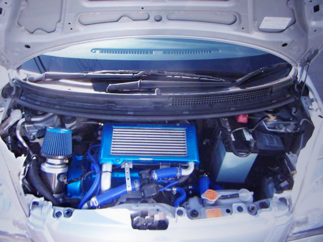 INLINE-FOUR OF JB-DET 660cc TURBO ENGINE