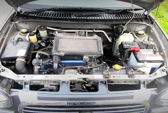 INLINE FOUR OF JB 660cc TWINCAM TURBO ENGINE